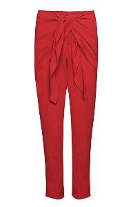 Calça Comfy Laço Vermelha