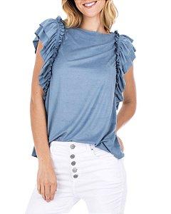 Blusa Sofia Azul