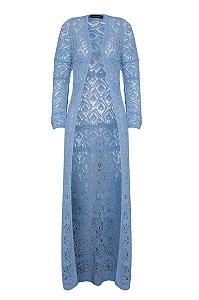 Cardigan Marcela Azul Céu