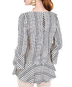 Blusa Olivia Listrada