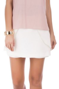 Shorts Saia Caravelas Off White