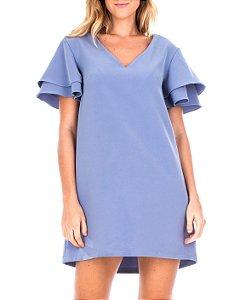 Vestido Basic Azul