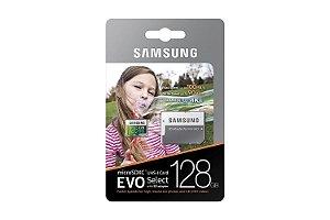 Cartão de Memória Samsung Micro SDXC EVO 128Gb