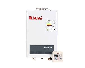 Aquecedor a Gás Rinnai REU-1602FEAGN - 22,5 litros