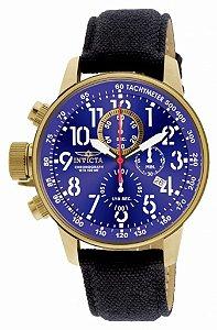 Relógio Invicta I-Force 1516 Original Cronografo Banhado Ouro 18k 46mm