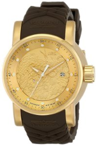 Relógio Invicta S1 Yakuza 12790 Banhado Ouro 18k Automático 48mm
