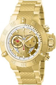 Relógio Invicta Subaqua 5403 Noma III Banhado Ouro 18k Suiço Cronografo