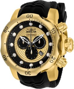 Relógio Invicta Venom Sea 20443 Cronografo Banhado Ouro 18k