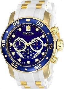 Relógio Invicta Pro Diver 20288 Cronografo 48mm Banhado Ouro 18k