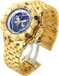 Relógio Invicta Venom Hybrid 16805 Banhado Ouro 18k Swiss 51mm Cronografo