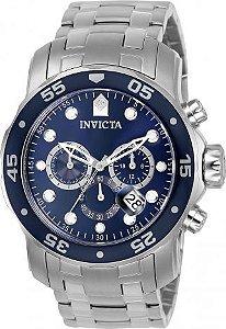 Relógio Invicta Pro Diver 21921 0070 Aço Inox Cronografo 48mm Prata