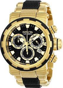 Relógio Invicta Specialty Capsule 23980 Banhado Ouro 18k Cronografo Swiss Z60
