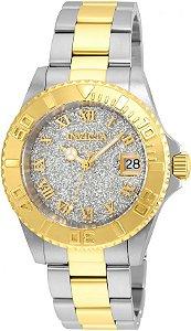 Relógio Invicta Angel Collection 22709 Feminino 40mm Banhado Ouro 18k