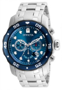 Relógio Invicta Pro Diver 21784 Aço Inoxidável 48mm Prata Cronografo