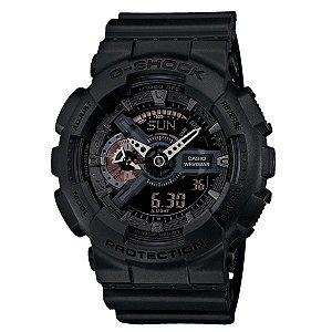 Relógio Casio G-Shock GA-110MB-1A Resina Masculino Digital / Analógico W/R 200m