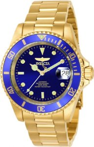Relógio Invicta Pro Diver 8930OB Automático40mm Banhado Ouro 18k