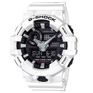 Relógio Casio G-Shock GA-700-7A Resina Masculino Digital / Analógico W/R 200m