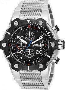 Relógio Invicta Bolt 25464 Cronografo 51.5 mm Aço Inoxidável Cor Prata VD57