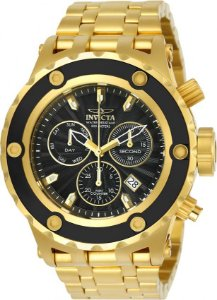 Relógio Invicta Subaqua 23921 Cronografo 52mm Banhado Ouro 18k Suíço Z60