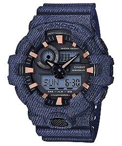 Relógio Casio G-Shock GA-700DE-2A Masculino Digital / Analógico Resina 200m