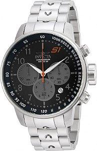 Relógio Invicta S1 Rally 23084 Cronografo 48mm Aço Inoxidável VD53 Prata