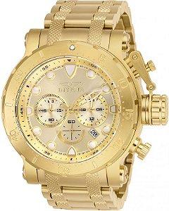 Relógio Invicta Coalition Forces 26502 Cronografo 52mm Banhado Ouro 18k
