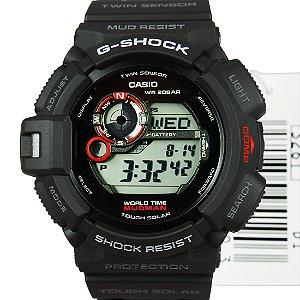 Relógio Casio G-Shock G-9300-1DR Preto Masculino Digital / Analógico W/R 200m