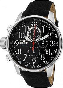 Relógio Invicta I Force 1512 Pulseira de Couro 46mm Aço Inoxidável Calibre VD57