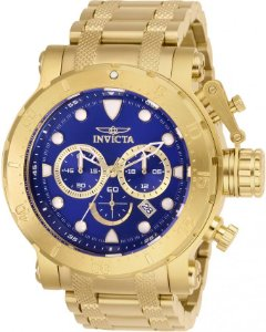 Relógio Invicta Coalition Forces 26500 Cronografo 52mm Banhado Ouro 18k