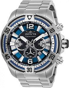 Relógio Invicta Bolt 27264 Aço Inoxidável 53mm Cronografo VD53