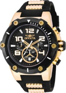 Relógio Invicta Speedway 17200 Cronografo 51mm Banhado Ouro 18k