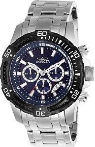 Relógio Invicta Pro Diver 25779 Aço Inoxidável Cronografo 51mm