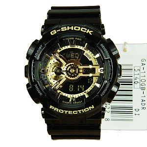 Relógio Casio G-Shock GA-110GB-1A Resina Masculino Digital / Analógico