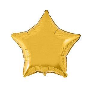 Balão Metalizado Formato Estrela