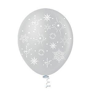 Balões de Flocos de Neve