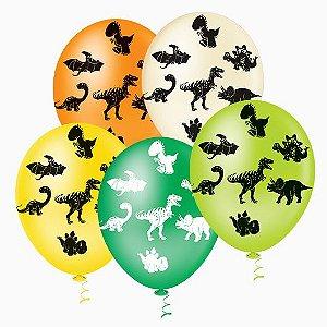 Balões de Dinossauros