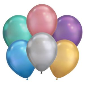 Balões Cromados