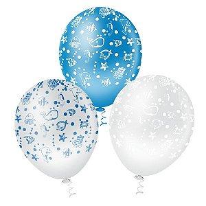 Balões Fundo do Mar