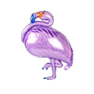 Balão Metalizado Flamingo