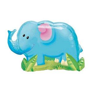 Balão Metalizado Elefante