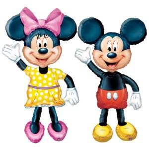 Balões AirWalker Mickey e Minnie