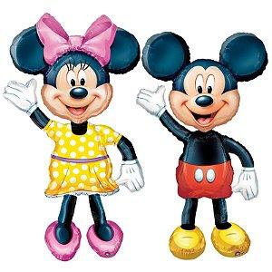 Balões AirWalker Mickey e Minnie