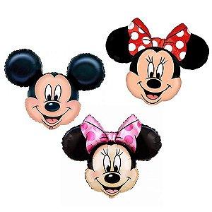 Balões Metalizados Mickey e Minnie