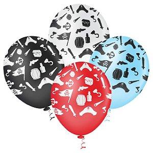 Balões de Piratas