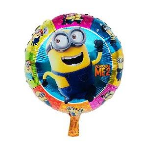 Balão Minions Redondo