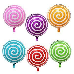 Balão Metalizado Espiral