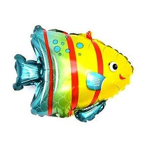 Balão Metalizado Peixe Tropical