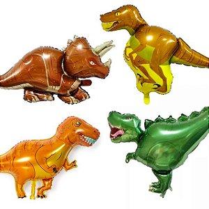 Balão Metalizado Dinossauros