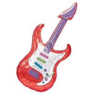 Balão Metalizado Guitarra