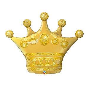 Balão Metalizado Coroa